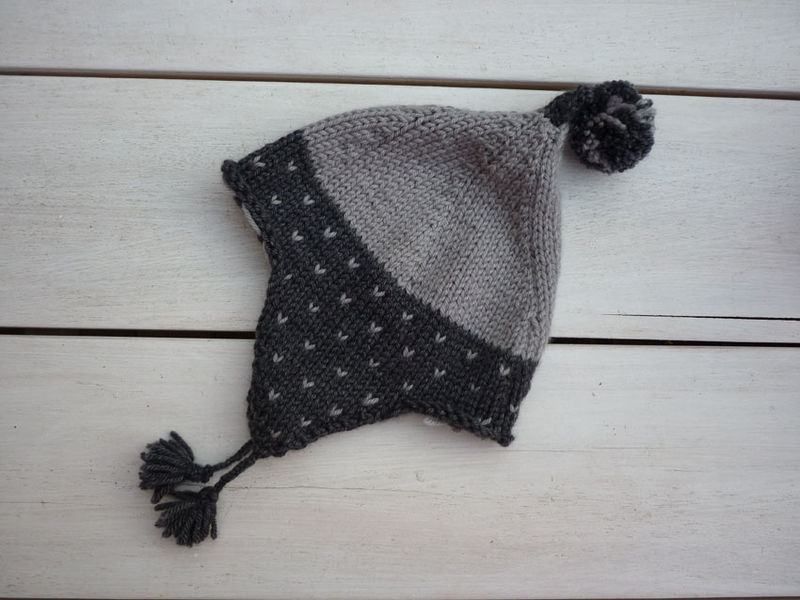 Explication tricot bonnet peruvien femme   Eco design 2530f3e7390