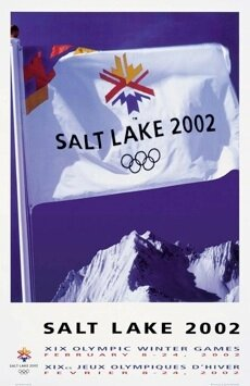 CPM Salt Lake City JO 2002 Affiche