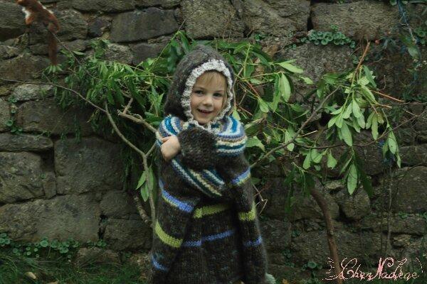 poncho enfant eskimo_1