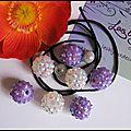 KIT n°9- bracelet shamballa, comprenant les explications, le fil, 7 perles en plasticine, 2 perles miracles. 6 Euros frais de port inclus