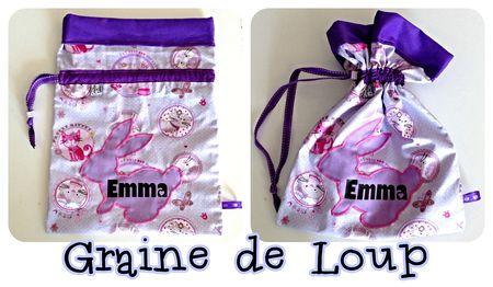 sac à chaussons Emma