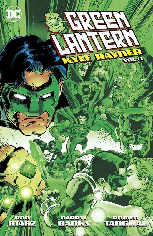 green lantern kyle rayner vol 01 TP