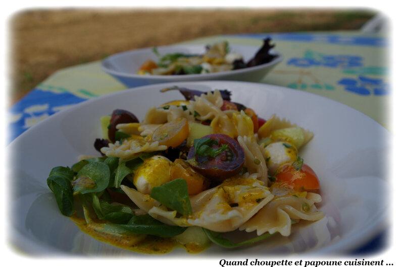 salade de farfalles-5860