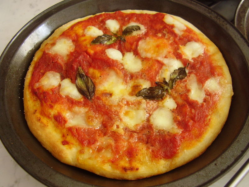 pizze margherita individuelles