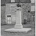 Rimou (35) - le combat de rimou du 2 ventôse an iv (21 février 1796) - inauguration du monument en 1906
