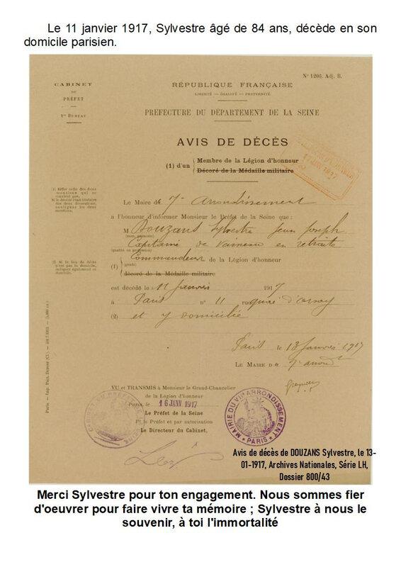 14-3) - DOUZANS Sylvestre - Légion d'Honneur - Page 6
