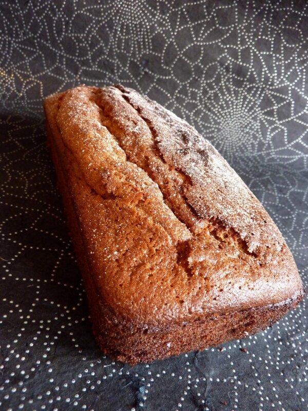 *Cake à l'orange et cannelle