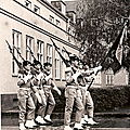 015 Garde au Drapeau - Prise d'Armes au QN 14-07-1973