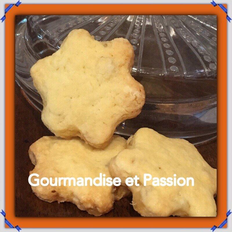 Biscuits sablés au gingembre confit