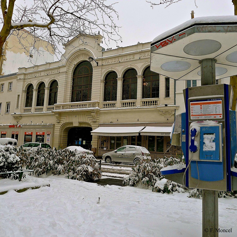 Le Trianon salle de spectacle parisienne sur le bd de Rochechouart.