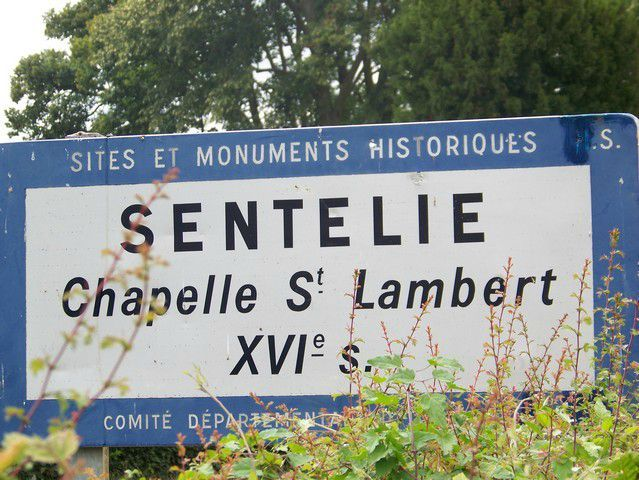Chapelle saint Lambert - Sentelie (3)