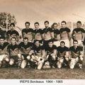 1964 - 1965, IREPS Bordeaux, entraîneur Bié