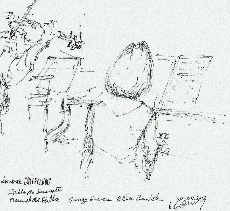 Soirée Musicale la pianiste