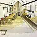 Aménagement salon / salle-à-manger - guignes (77)