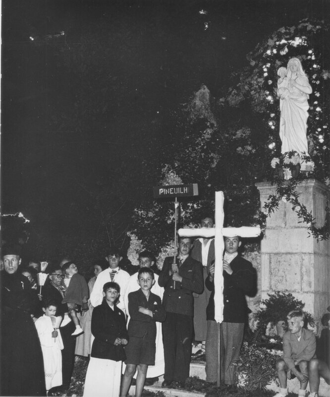 Procession de Pineuilh 1951 11
