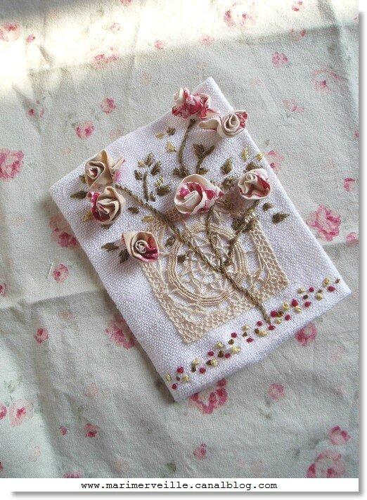 carnet couture Marimerveille pour livre Trésors chinés 1