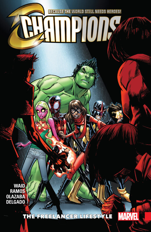 champions vol 02 the freelancer lifestyle TPB