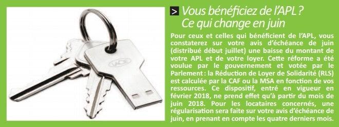 Info Plus - Réduction du Loyer de Solidarité (RLS)