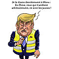 Arrestations de jaunes