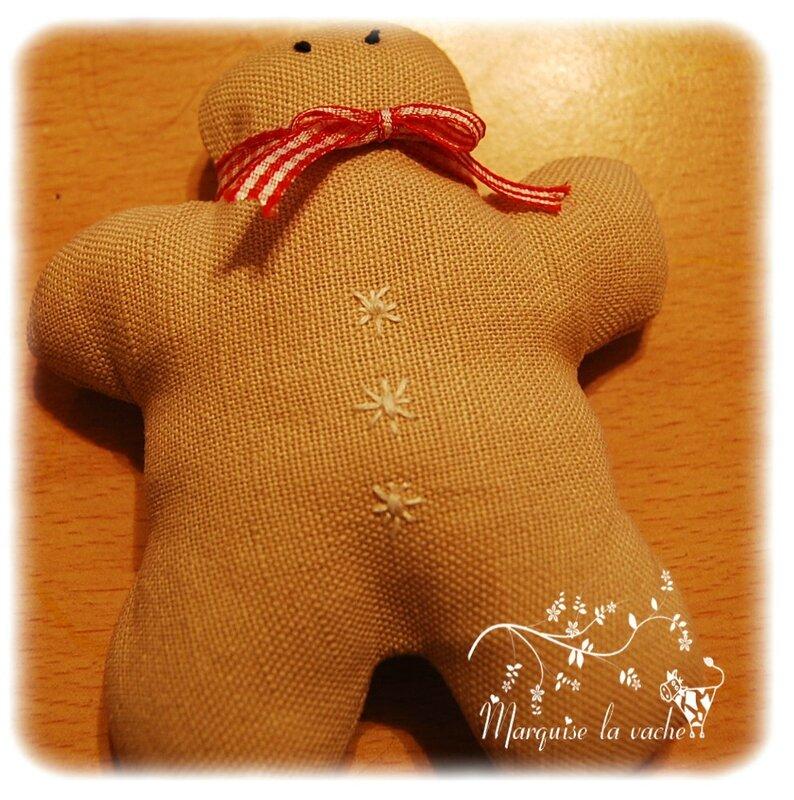 bonhomme pain d'épice suspension de Noël (4)