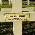 Baudin louis (le magny) + 05/05/1916 esnes en argonne (55)