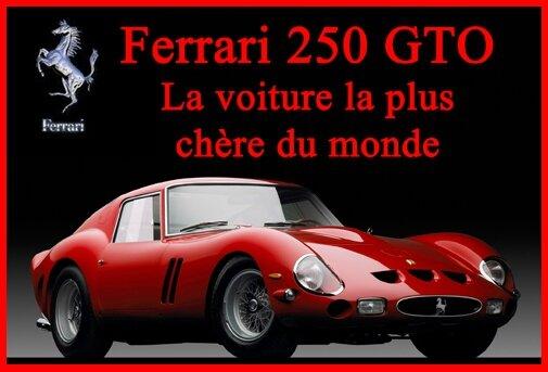 250 GTO La plus chère du monde (JCB 2016)