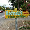 Boipalo la saline-les-bains la réunion école natation devanture vitrine jeu de mot humour photo