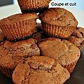 Muffins au philadelphia milka