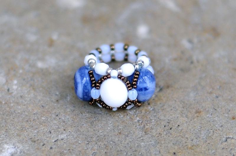 Nacre et Corail bleu