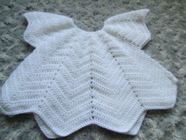 Gilet papillon blanc (3)