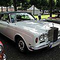 Rolls royce corniche i, 1971 à 1977