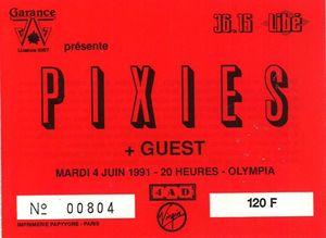 1991_06_04_Pixies_Olympia_Billet