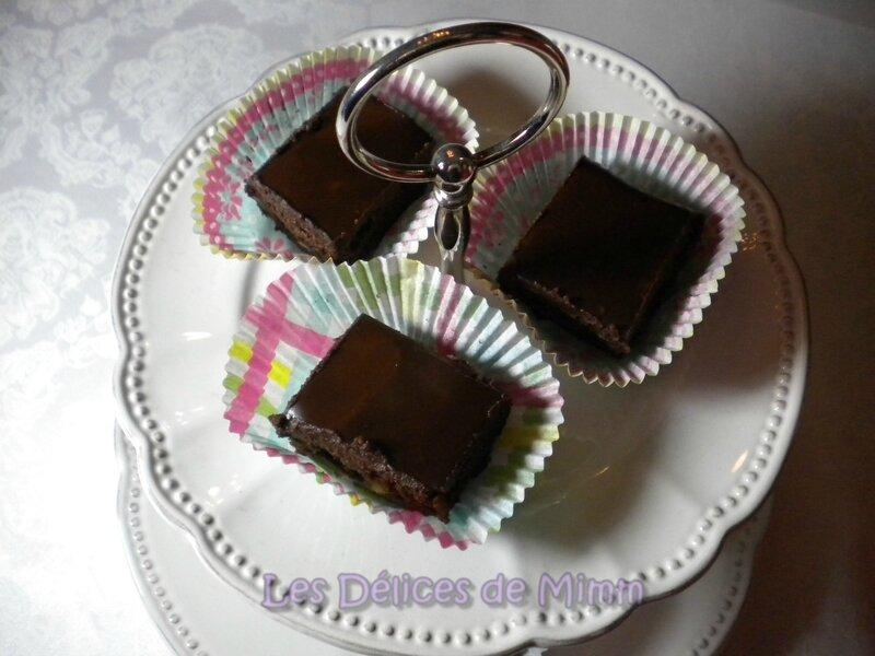 Brownies aux noix de pécan, ganache à l'Amaretto 3