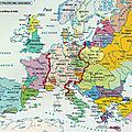 Europe around 1250