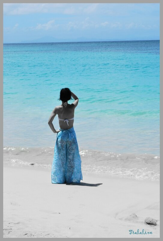 Pantalon thaï version plage