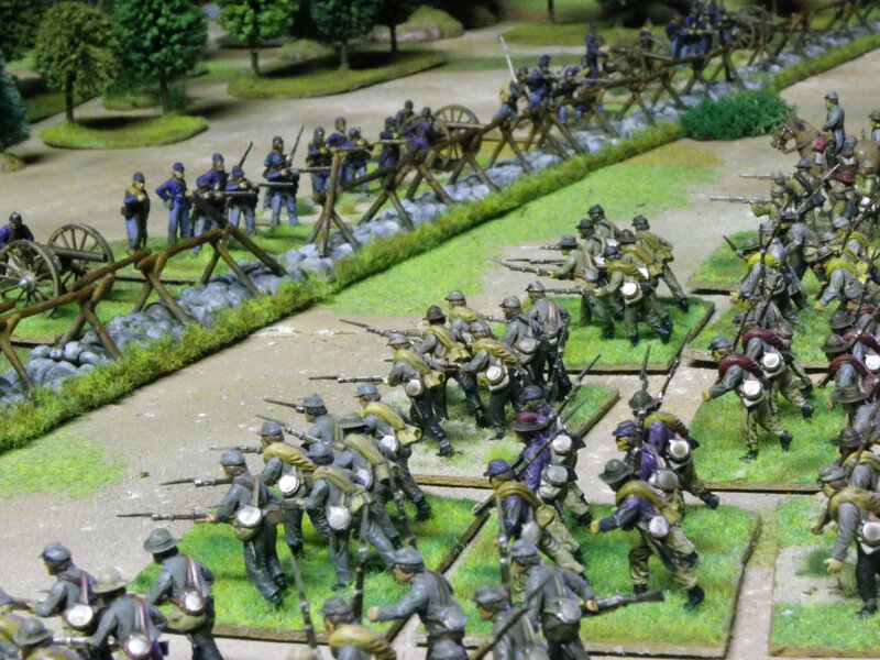guerre de secession charge de Pickett