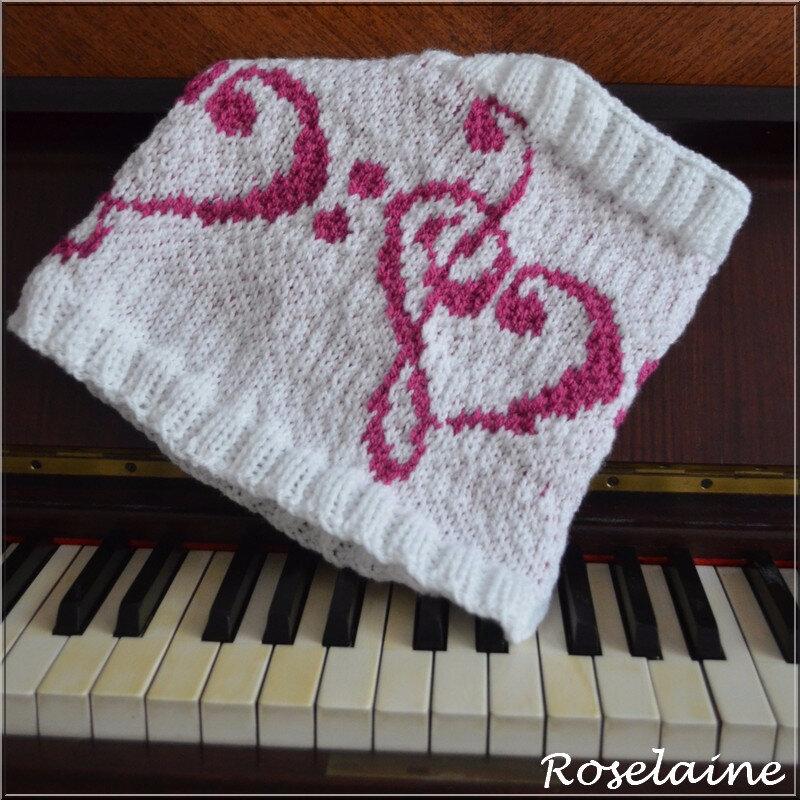 Roselaine Tour de cou musique