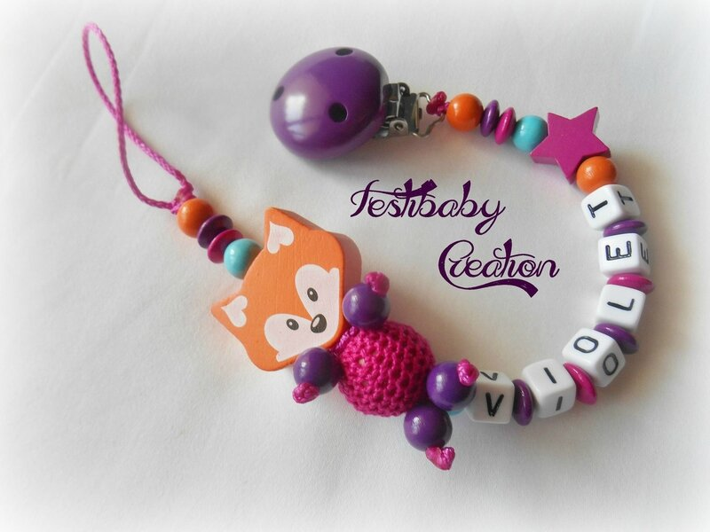 Festibaby Création attache sucette