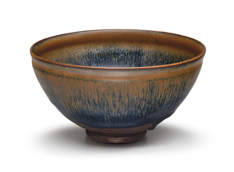 A Cizhou-type 'hare's fur'-glazed tea bowl, Jin dynasty, 12th-13th century