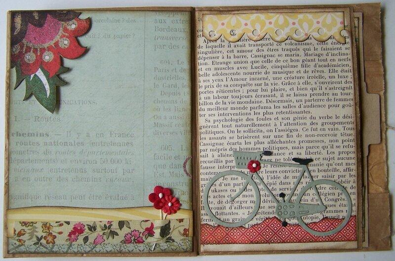 Livre d'amitié pages 6 et 7
