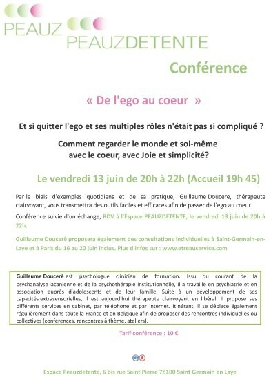 conference saint germain juin 2014