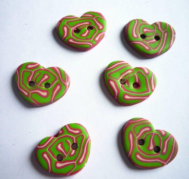 boutons-coeur-cane-cervelle-vert-rose-blanc