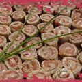 Rouleaux aux saumon (apéro)