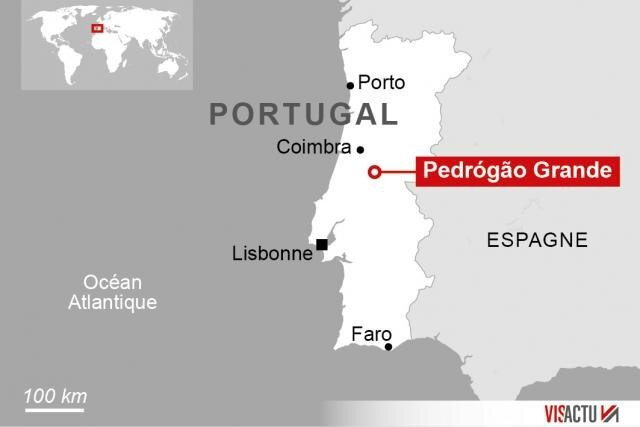 incendie au portugal