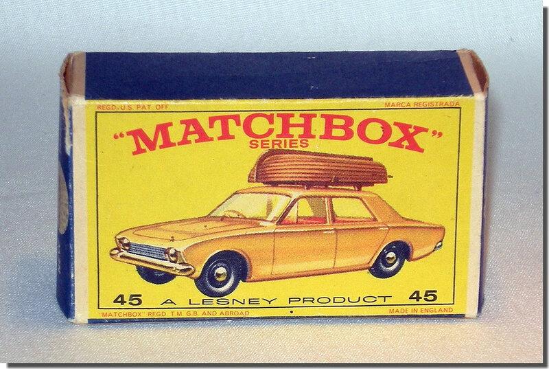 Lesney Matchbox 45 B MIB 1