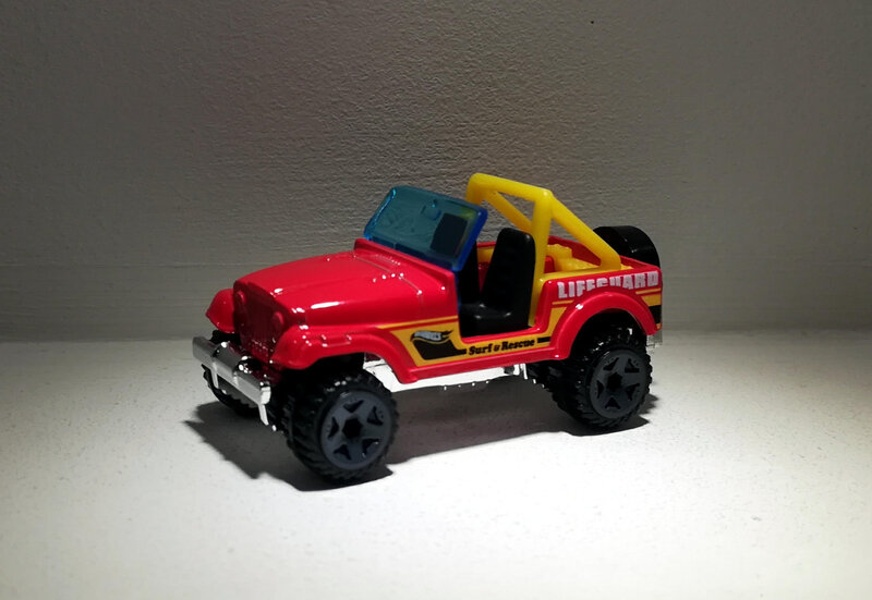 Jeep CJ-7 (Hotwheels)