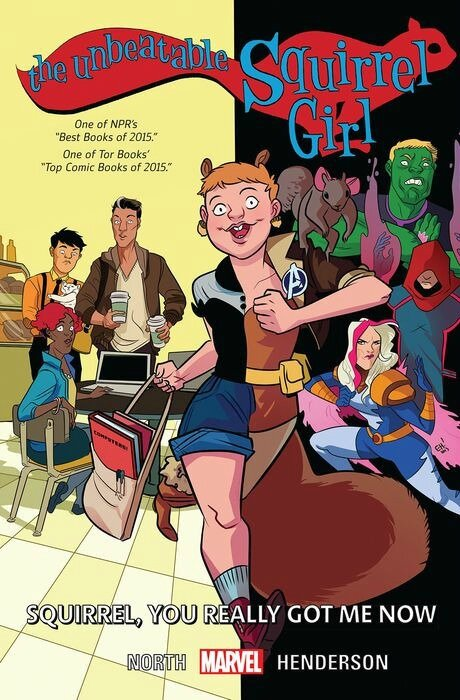 unbeatable squirrel girl vol 3 squirrel you really got me now TP