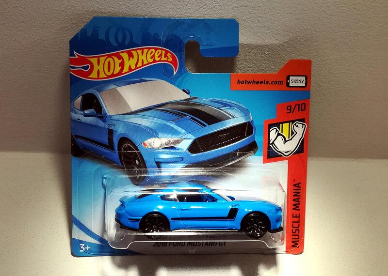 Ford Mustang GT de 2018 (Hotwheels)