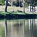 Lac et Eglise Le Houga 251017