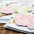 4enscrap ... version fleurs et aquarelle